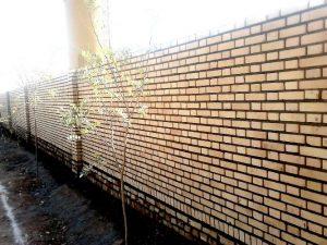 آجر ده سوراخ دیوار چینی